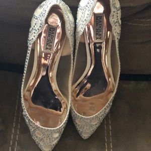 Theses are badgley mischka shoes